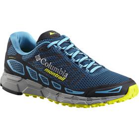 Columbia Bajada III Buty do biegania Mężczyźni niebieski